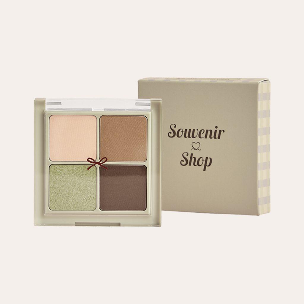Amorepacific - Color Tailor Velvet Color Eye Palette #02 Olive Garden