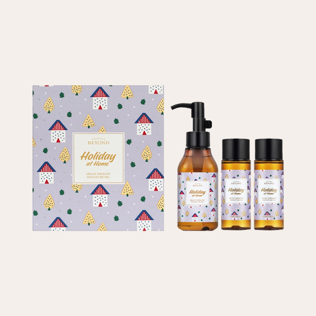 Beyond - Holiday At Home Argan Therapy Signature Oil Kit