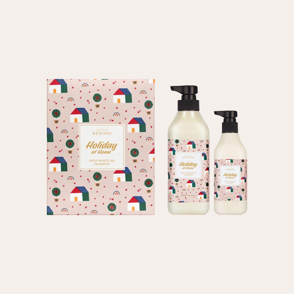 Beyond - Holiday At Home Deep Moisture Shampoo Kit