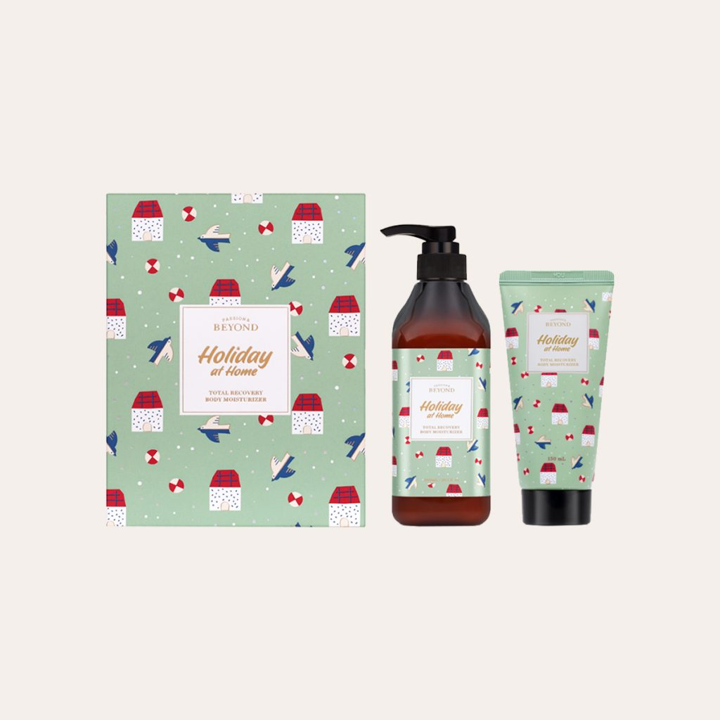 Beyond - Holiday At Home Total Recovery Shower Cream Kit