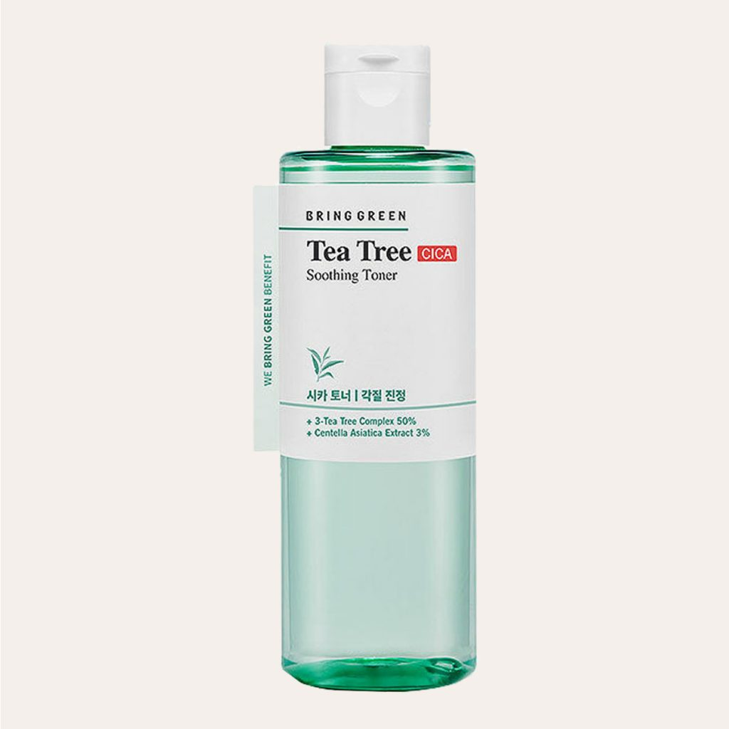 Bring Green - Tea Tree Cica Soothing Toner