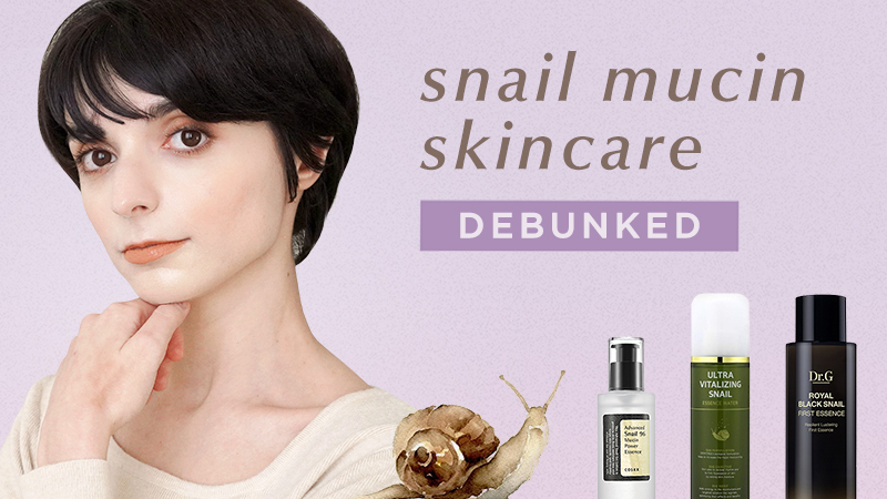 Snail Mucin Debunked What you should know before buying a snail mucin skincare product