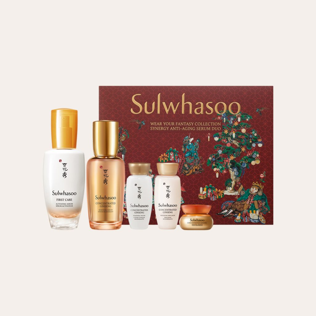 Sulwhasoo - Wear Your Fantasy Christmas Collection 2020 Synergy Anti-Aging Serum Duo