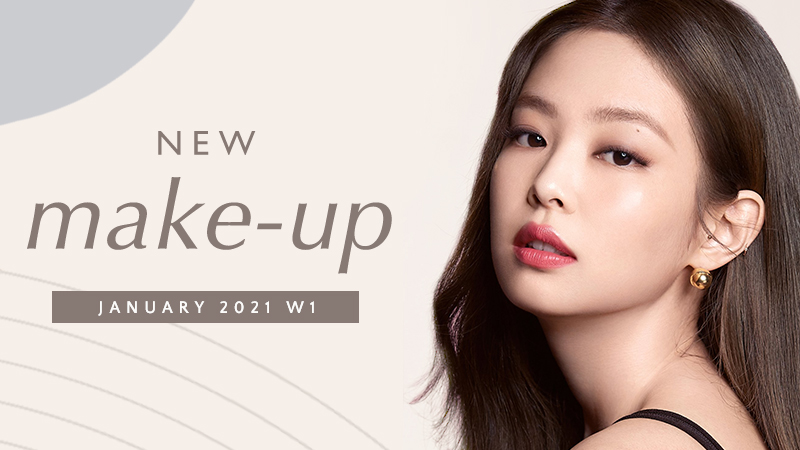 New Korean make-up products [January 2021 – Week 1]