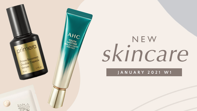 New Korean skincare products [January 2021 – Week 1]