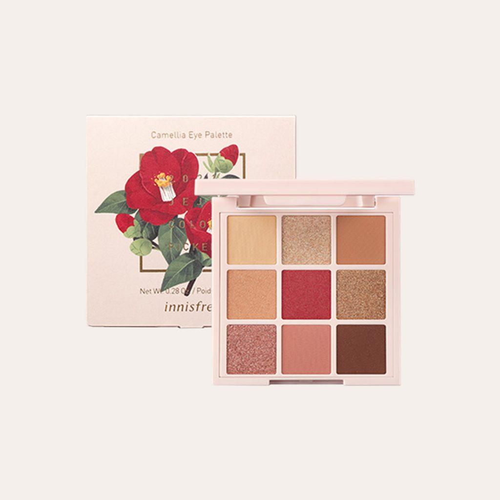 Innisfree - Jeju Color Picker Camellia Eye Palette