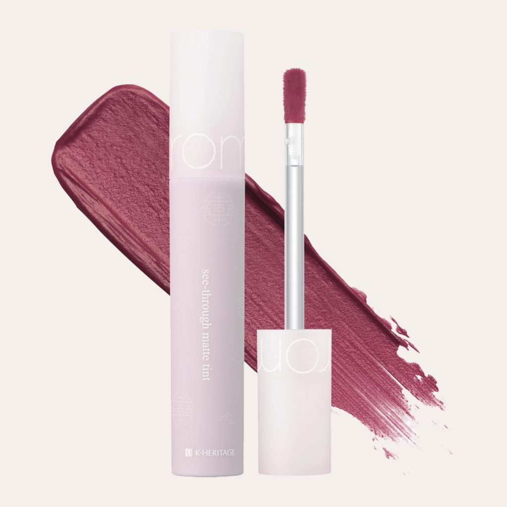 Romand - See Through Matte Tint Hanbok Project (#10 Blush Purple)