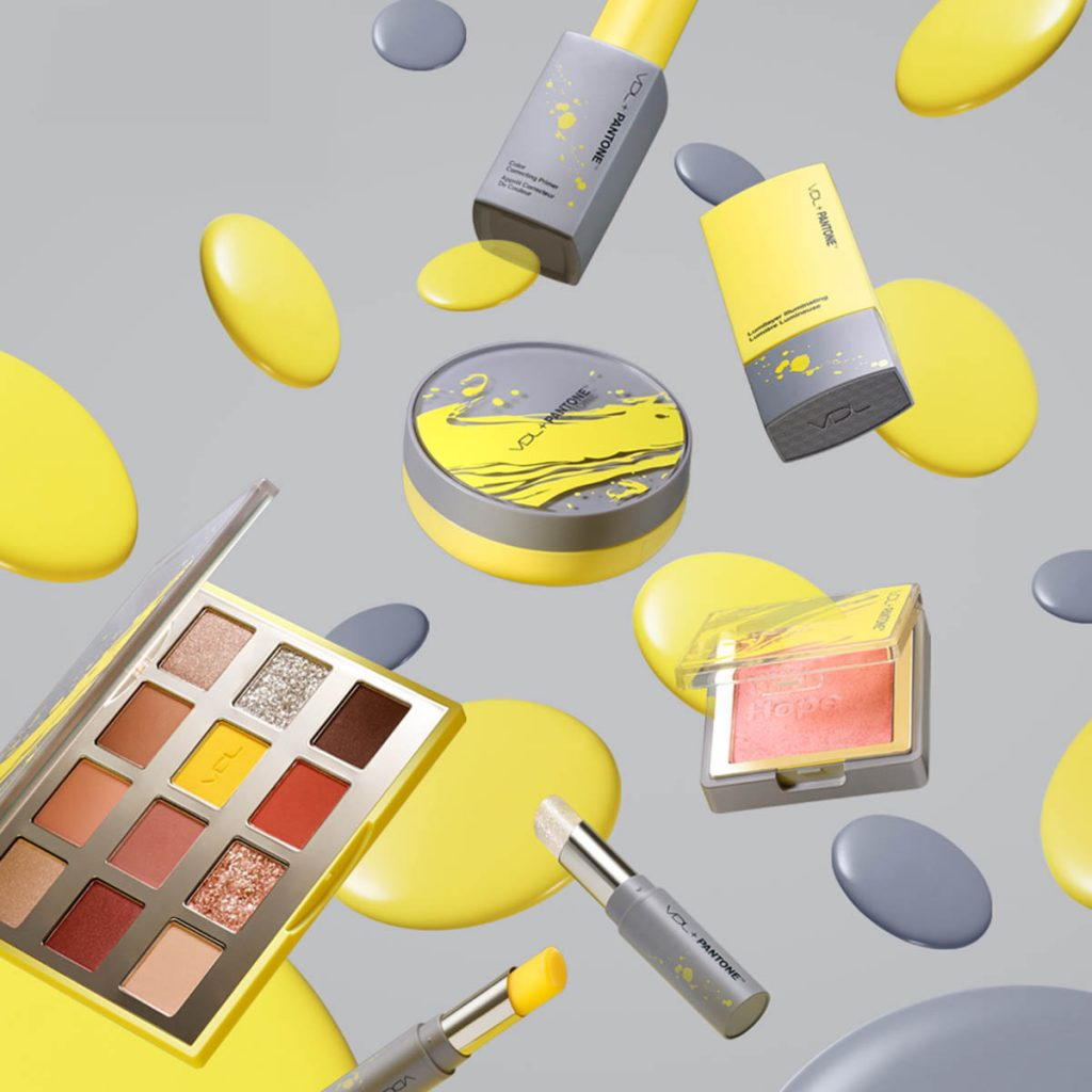 VDL x Pantone - 2021 Collection Ultimate Gray and Illuminating
