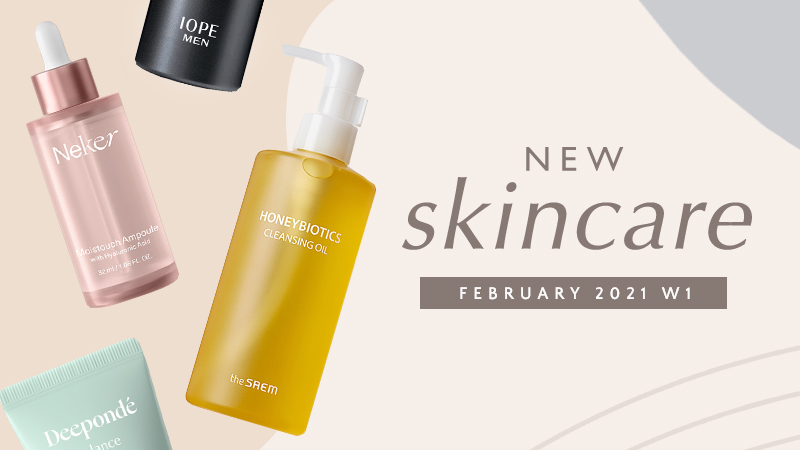 New Korean skincare products [February 2021 – Week 1]
