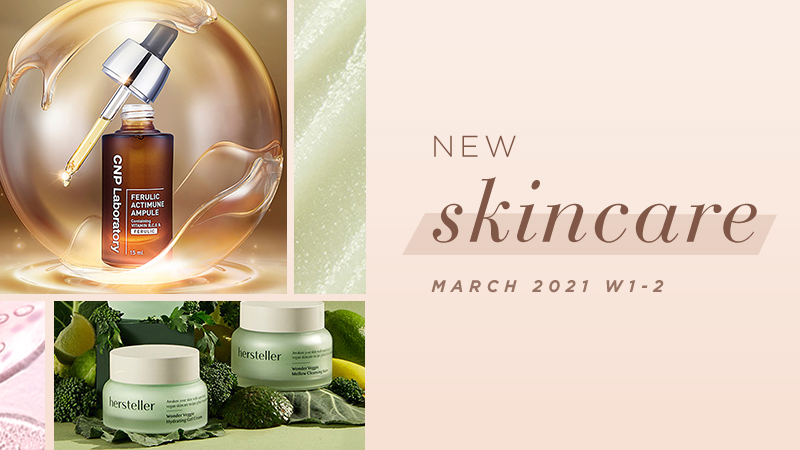 New Korean skincare products [March 2021 Weeks 1-2]