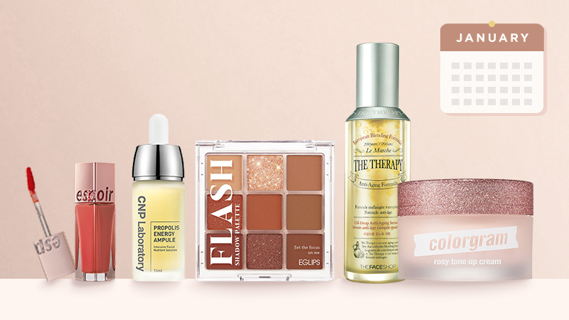 Top-selling Korean Beauty products in January 2021, in South Korea