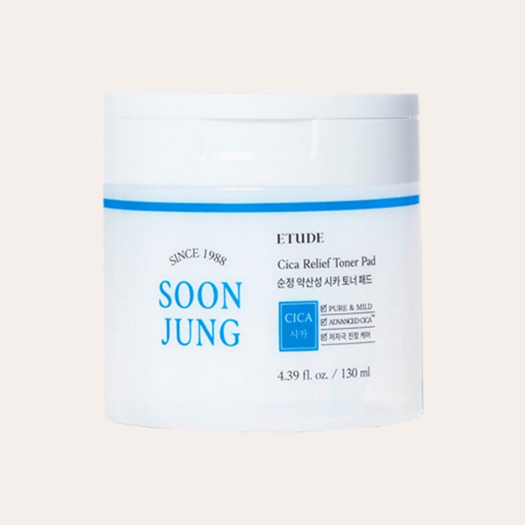 Etude House - Soon Jung Cica Relief Toner
