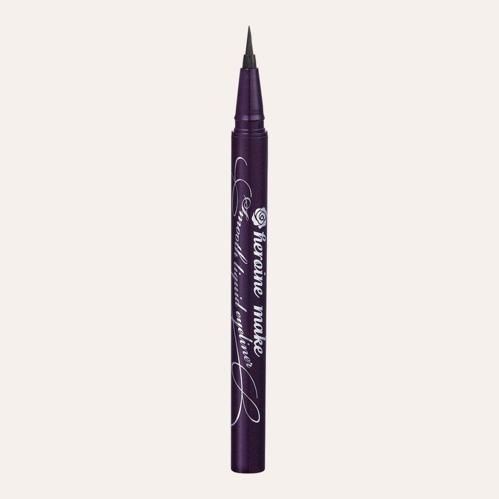 Kiss Me - Heroine Make Smooth Liquid Eyeliner Super Keep [#01 Deep Black]