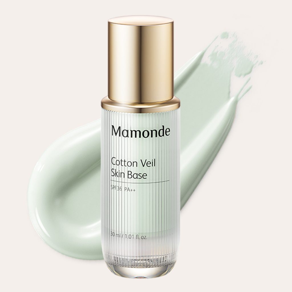 Mamonde - Cotton Veil Skin Base #2 Mint
