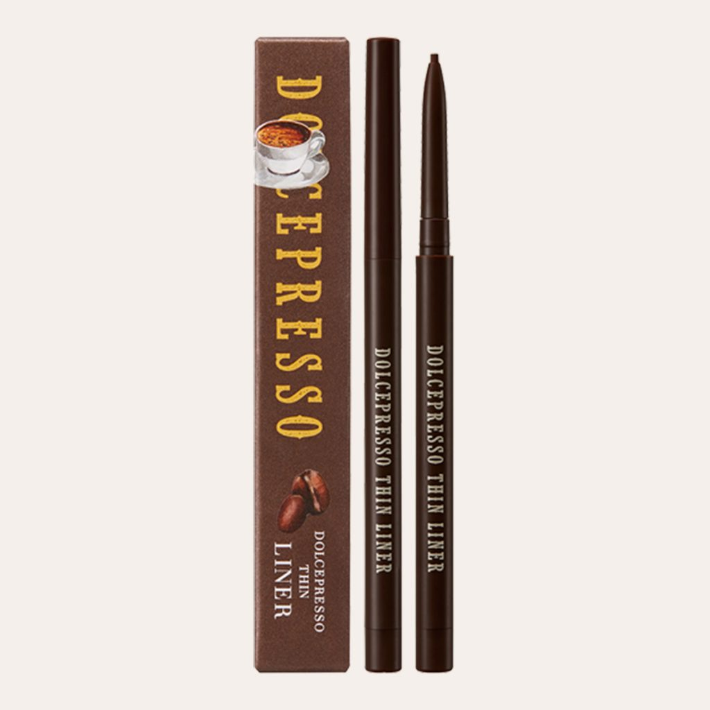 Skinfood - Dolcepresso Thin Liner #01 Deep Brown
