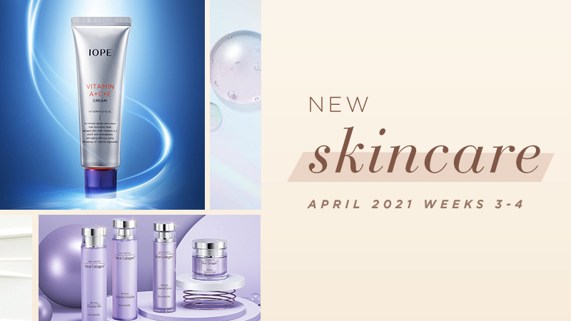 New Korean skincare products [April 2021 Weeks 3-4]