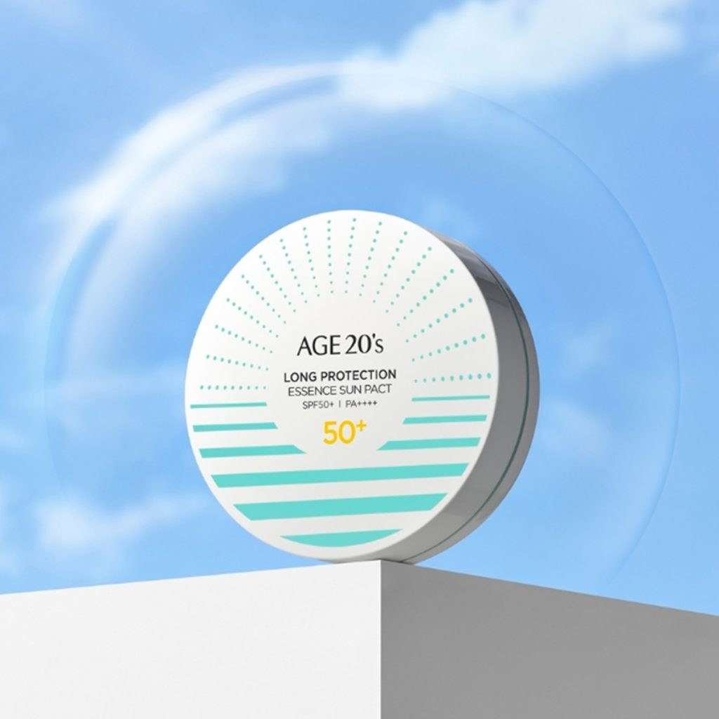 Age 20's - Long Protection Essence Sun Pact