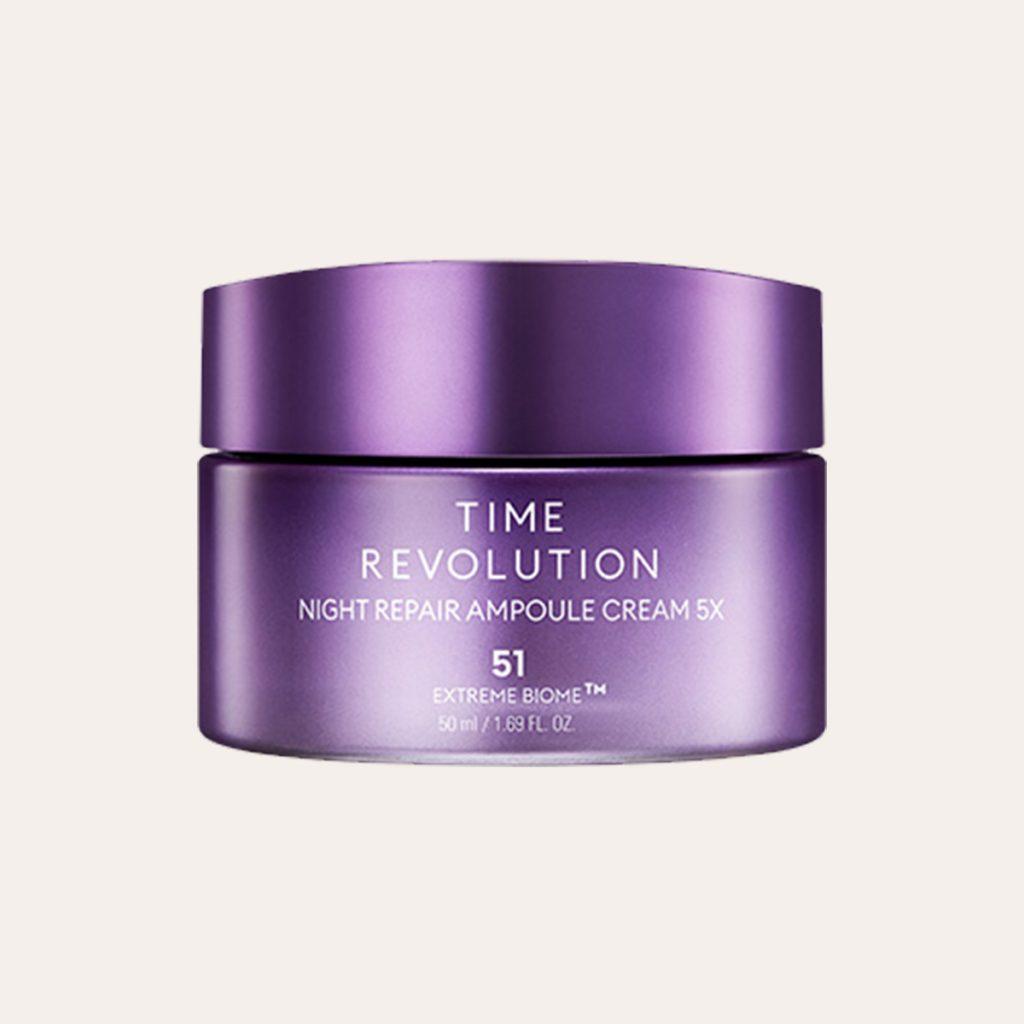 Missha - Time Revolution Night Repair Ampoule Cream 5x