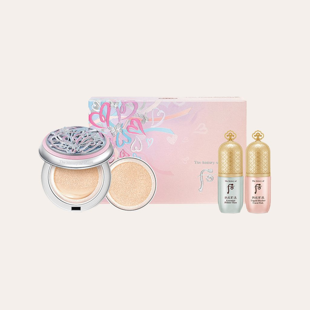 The History of Whoo - Gongjinhyang Seol Radiant White Moisture Cushion Foundation 2021 edition