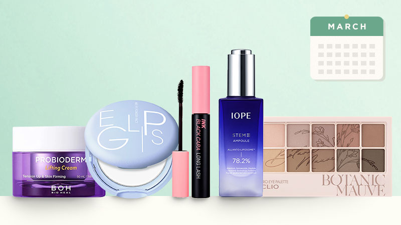 Top-selling Korean Beauty products in March 2021, in South Korea