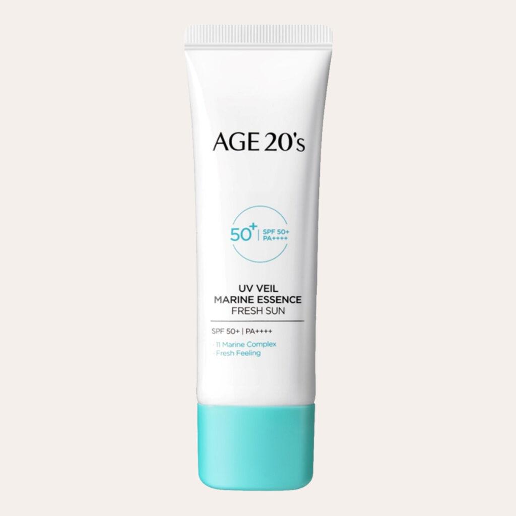 Age 20's - UV Veil Marine Essence Fresh Sun SPF50+ PA++++