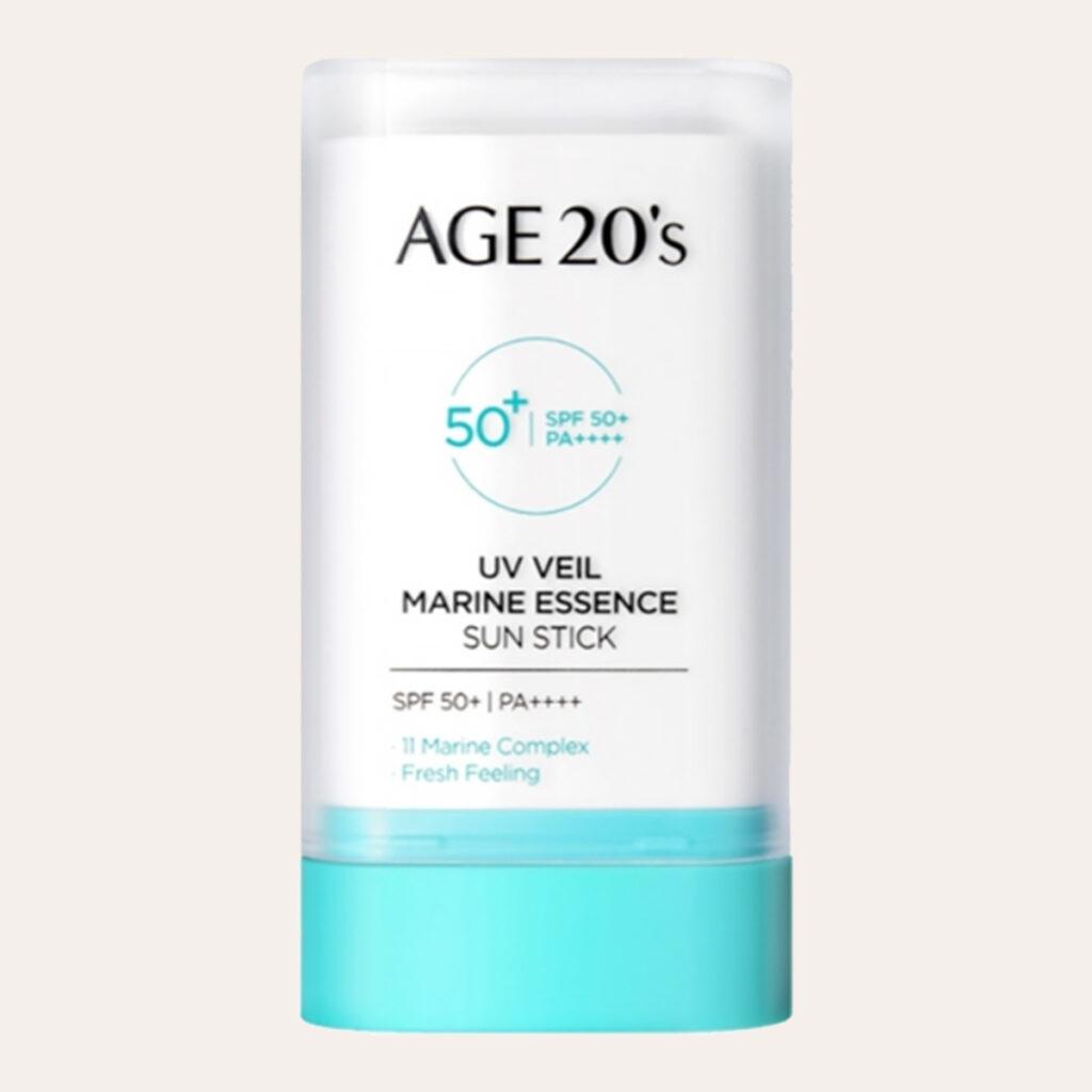Age 20's - UV Veil Marine Essence Sun Stick SPF50+ PA++++