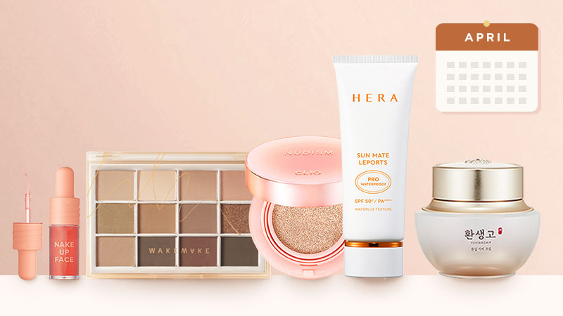 Top-selling Korean Beauty products in April 2021, in South Korea