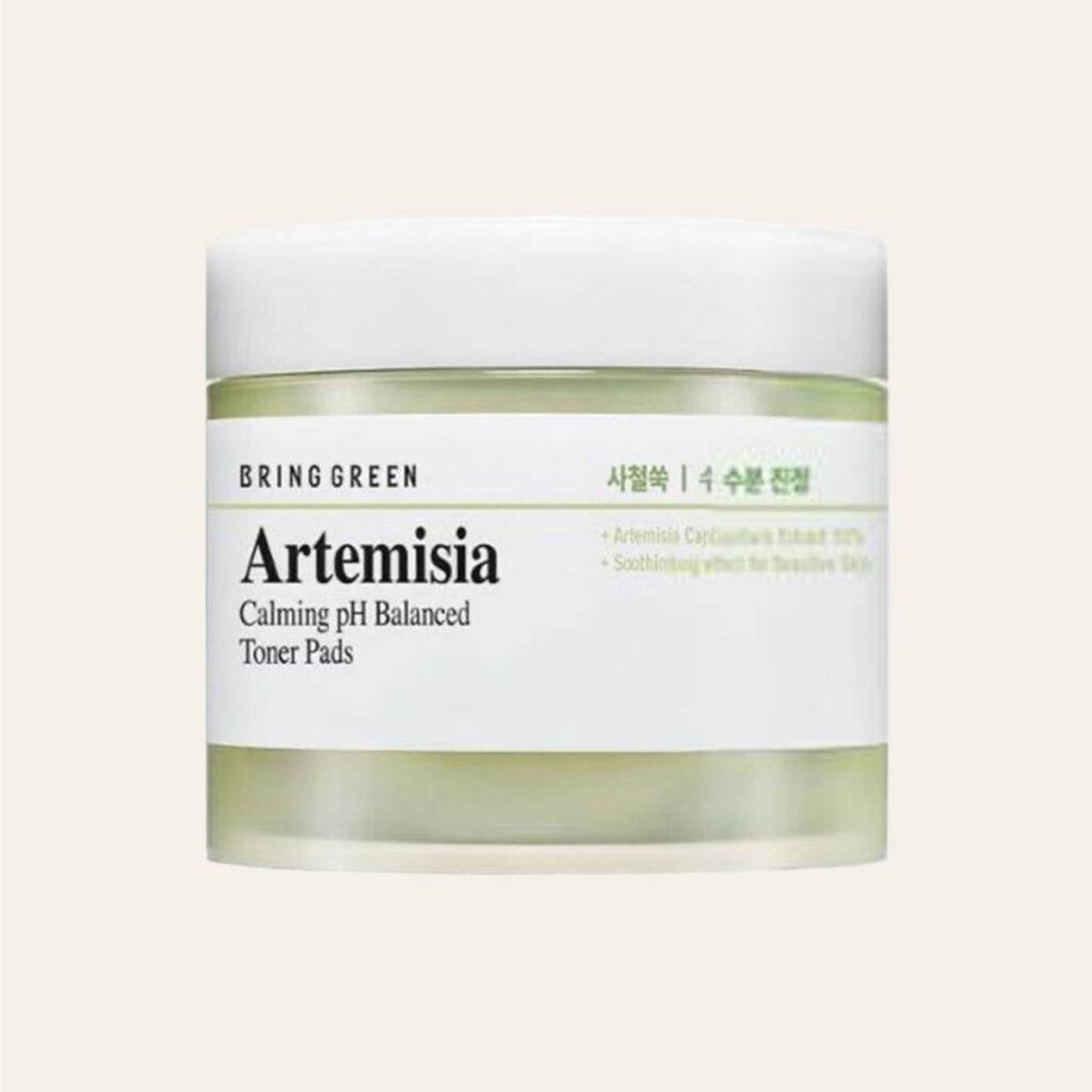 Bring Green – Artemisia Calming pH Balanced Toner Pads