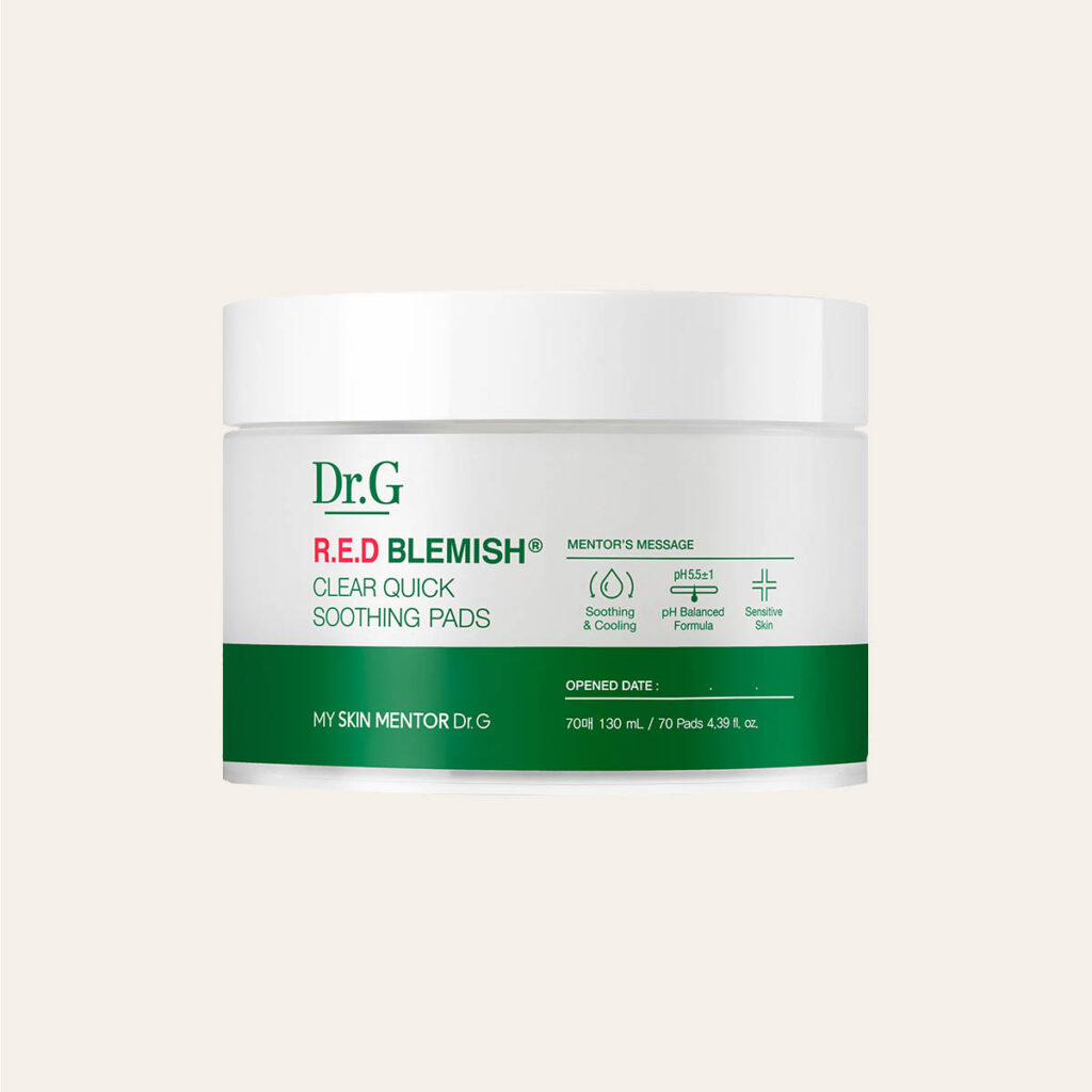 Dr. G – R.E.D Blemish Clear Soothing Pads