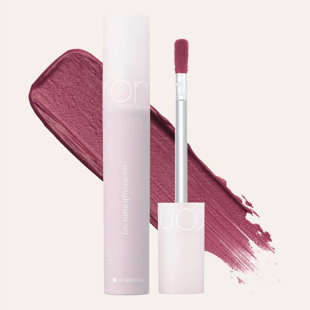 Romand – Hanbok Edition See-Through Matte Tint [#10 Blush Purple]