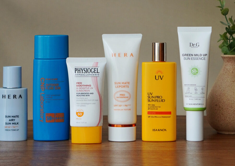 Best Korean Sunscreens For All Skin Types