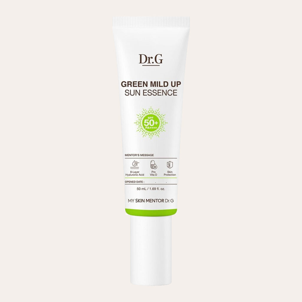 Dr.G - Green Mild Up Sun Essence SPF50+/PA++++