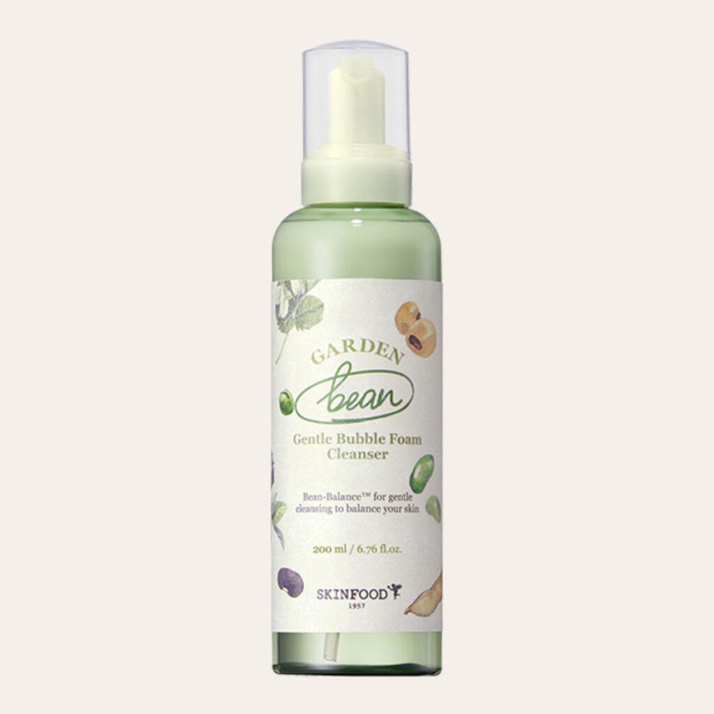 Skinfood - Garden Bean Gentle Bubble Foam Cleanser