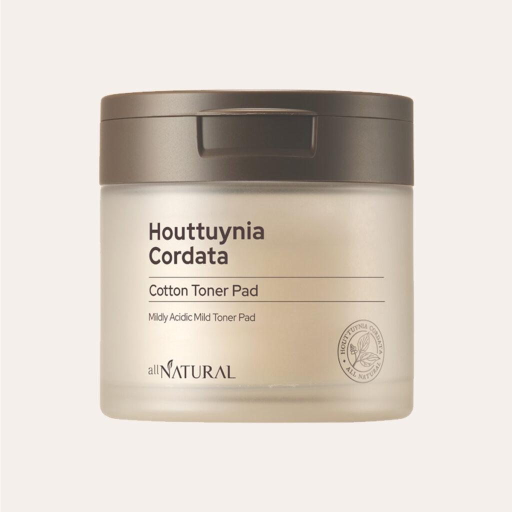 All Natural - Houttuynia Cordata Cotton Toner Pad