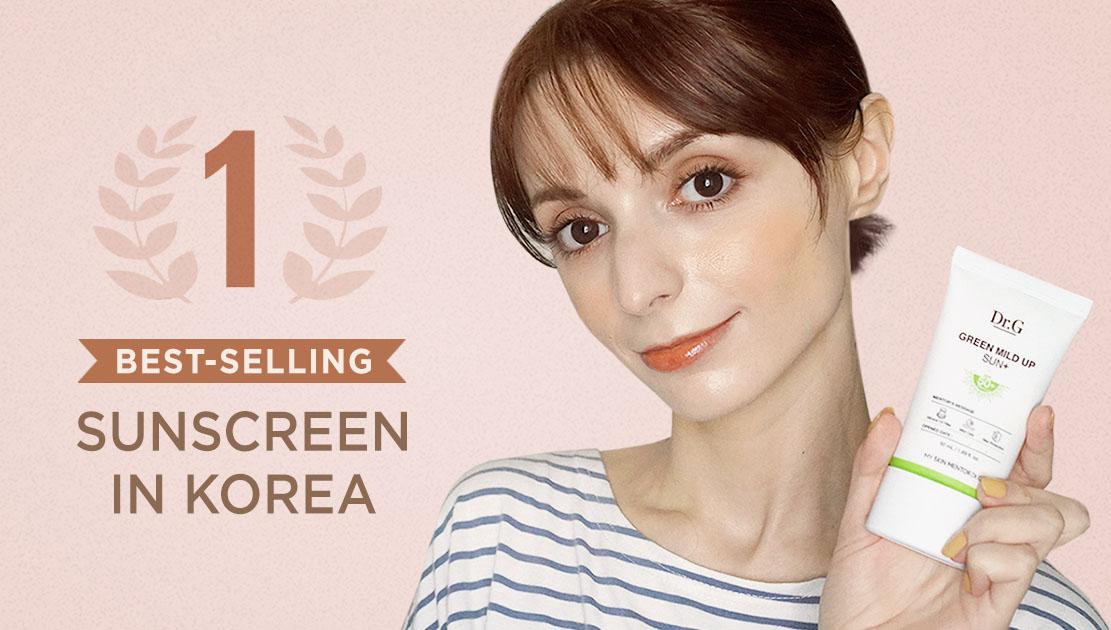 Dr.G 's Green Mild Up Sun Plus the best Korean mineral sunscreen