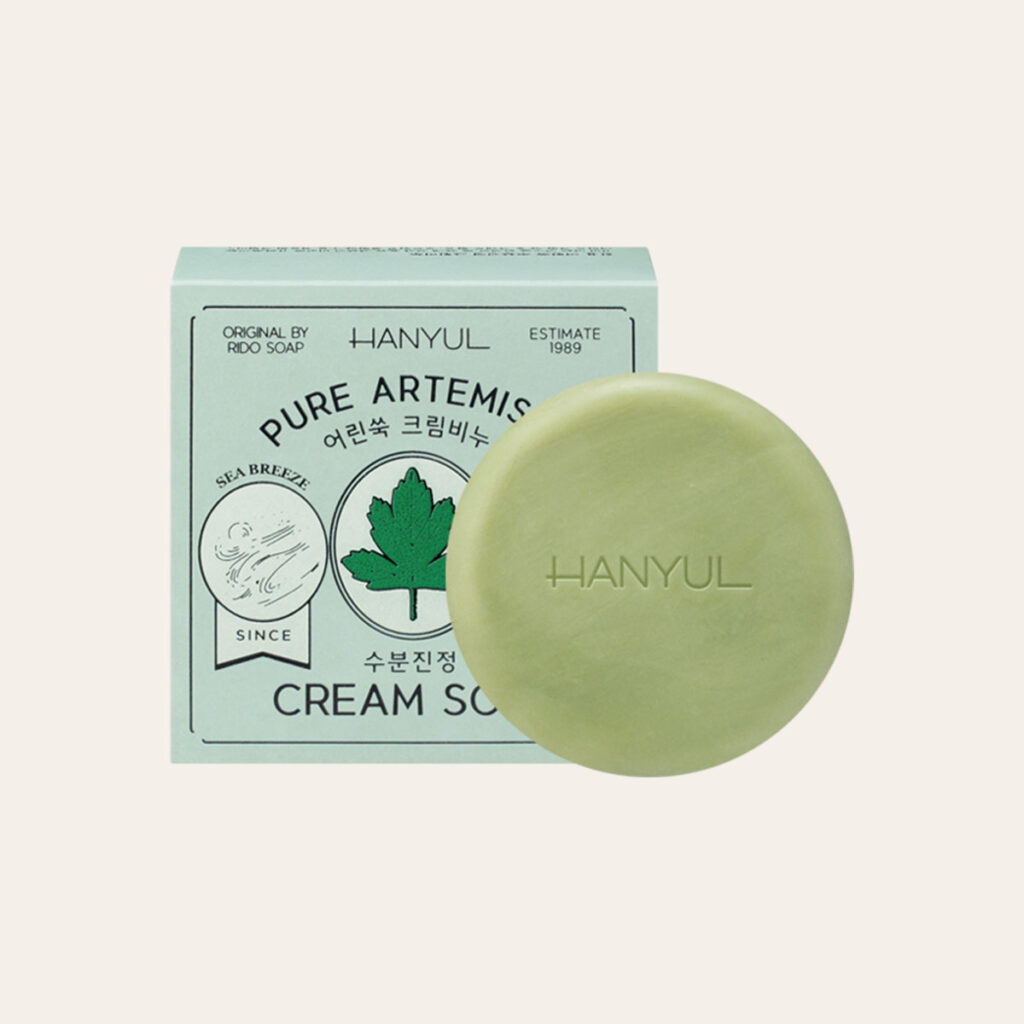 Hanyul - Pure Artemisia Calming Water Cream Soap 1989 Edition