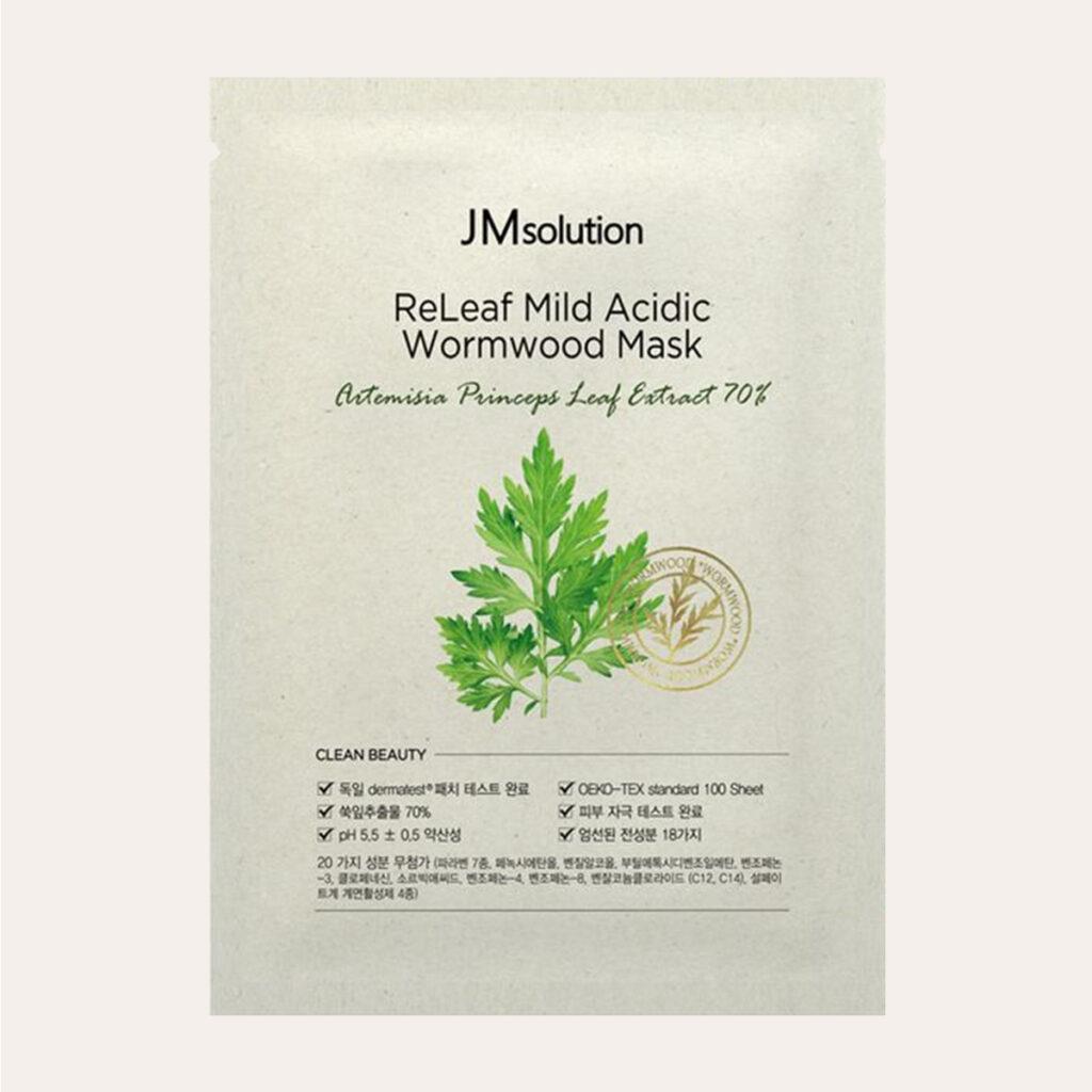 JMSolution - ReLeaf Mild Acidic Wormwood Mask