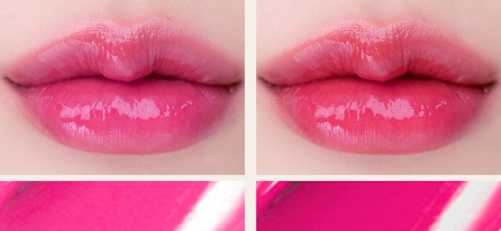 Romand - Juicy Lasting Tint Our Own Pink swatches