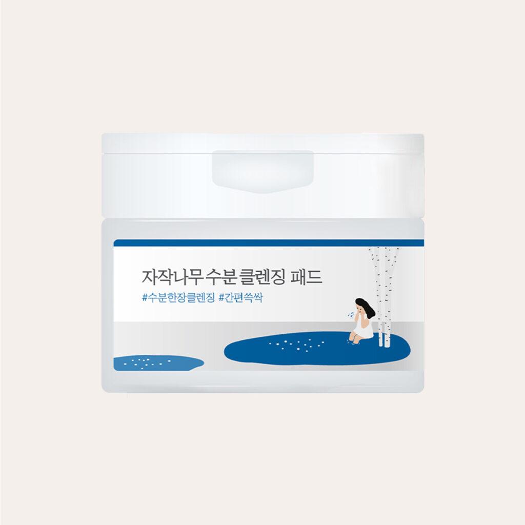 Round Lab - Birch Juice Moisturizing Cleanser Pad