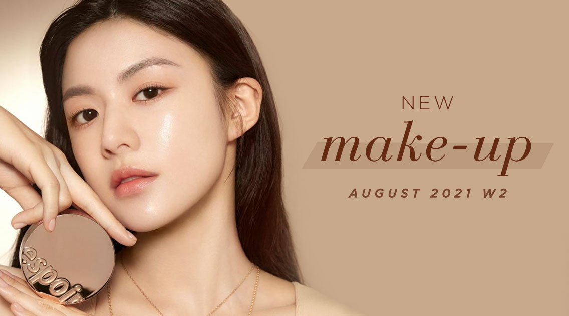 New Korean make-up products [August – Weeks 3-4]