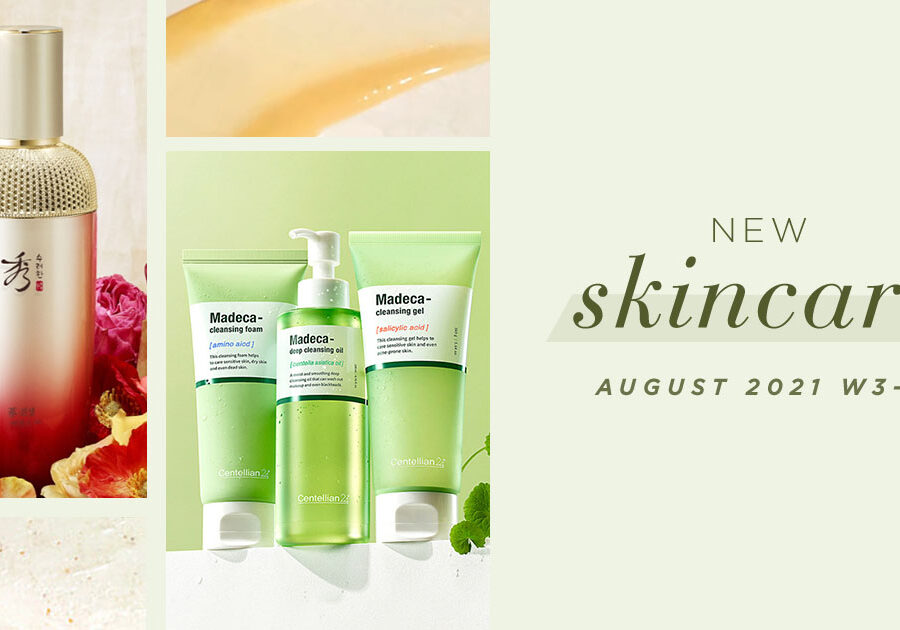 New Korean skincare products [August – Weeks 3-4]