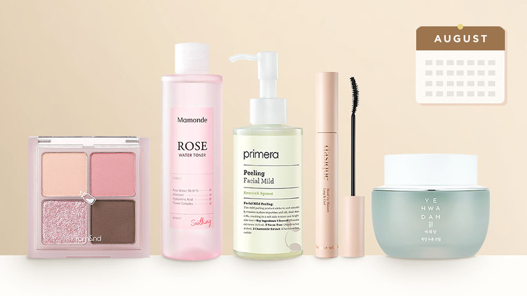 Top-selling Korean Beauty products in August 2021 in South Korea
