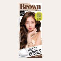 Mise-en-scène - Hello!! Bubble Foam Colour [#6N Choco Brown]